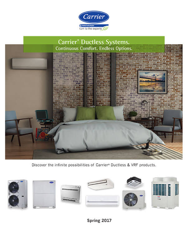 Carrier Ductless Systems Orange County, CA